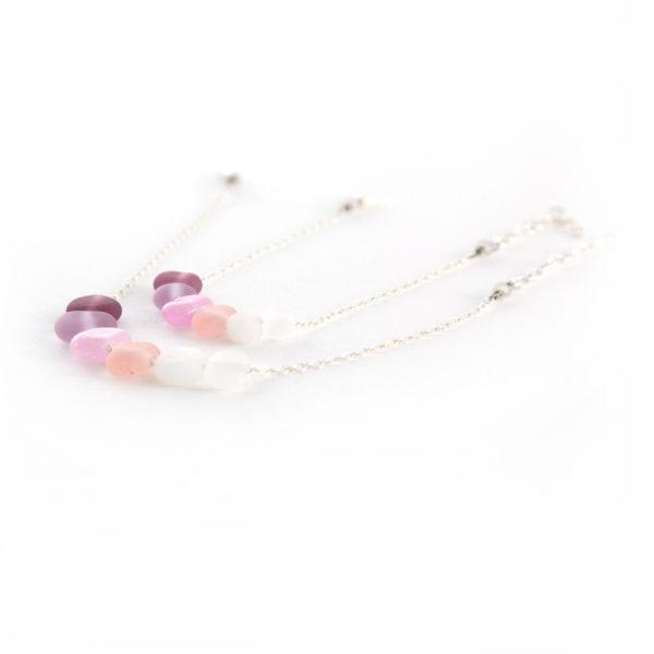 Perles en verre comme des petits cailloux